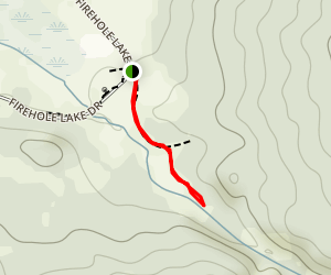 Five Senses Trail to Octopus Spring and Five Sisters Spring Map