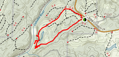 Piper Trail Loop Map