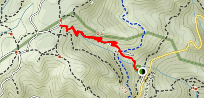 Bootjack Trail  Map