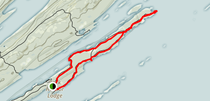 Scoville Point Loop Map