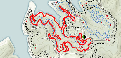 White Tail Loop Trail Map