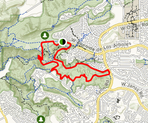 Wildwood Canyon Trail Loop Map