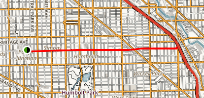 Bloomingdale Trail Map