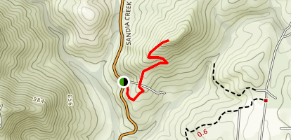 Rock Mountain Trail Map