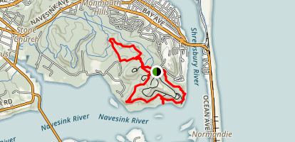 Rocky Point Trail and Grand Tour Loop Map