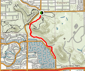 H-1 Trail Map