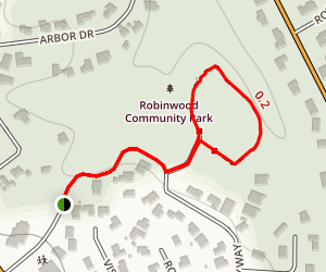 Robinwood Community Park Map