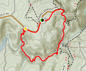 The Grand Canyon Track Map