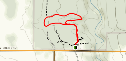 Hunters Creek Short Loop Map