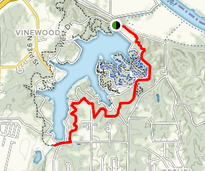 Wyco Lake Bridle Trail Map