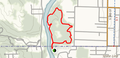 Madelaine Bertrand Green Trail Map