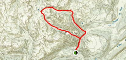 West Lost Trail and Lost Trail Loop Map