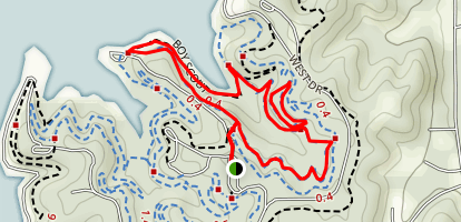 Boy Scout Loop Trail Map