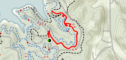 Mason's First Trail Map