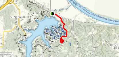 WyCo Bridle Trail to Psycho WyCo Loop Map