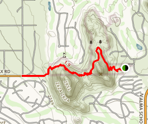 Pinnacle Peak Trail Map