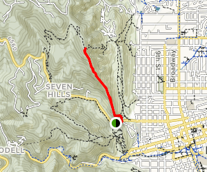 Mount Sanitas Peak Trail Map