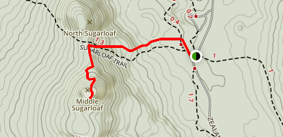 Middle Sugarloaf Trail Map