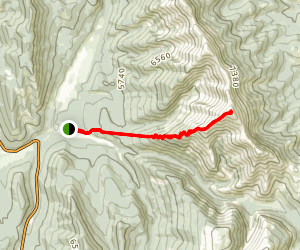 Mount Burke Trail Map