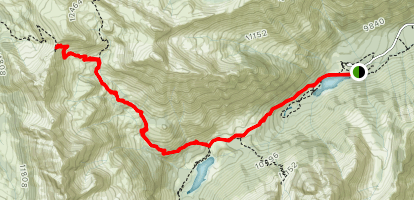 Buckskin Pass Map