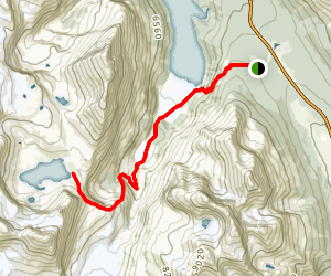 Caldron Lake Trail Map