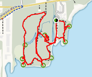 Maplewood Flats Conservation Area Trail Map