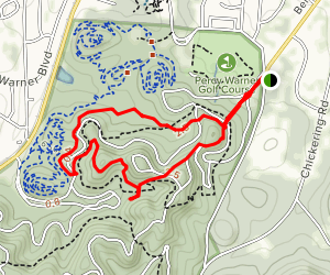 Warner Woods Trail Map