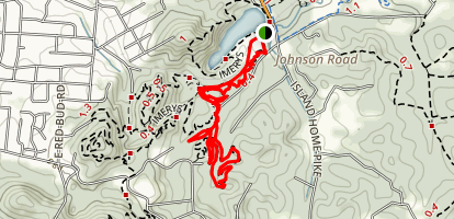 Flow and Hickory Trails Map