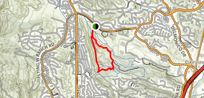 Ute Vally Park Trail  Map