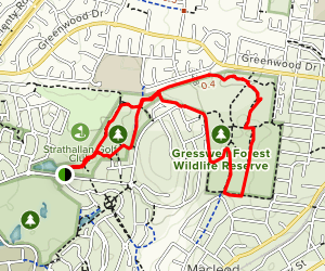 Gresswell Forest Map