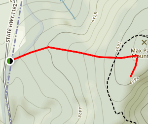 Max Patch Mountain Map