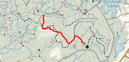 Wolf Meadow Trail Map