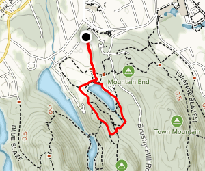 Parks Pond Loop Map