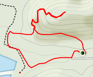 Little Loop at Radnor Lake Map