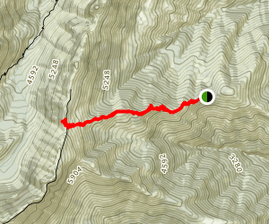 South Wedge Mountain Trail Map