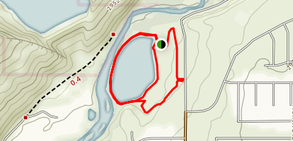 Grandpa's Pond Trails Map