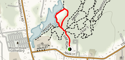 Linguicia Loop Trail Map