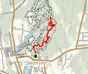 Two Guys to Boulderdash Trail Map