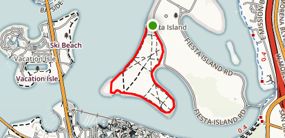 Fiesta Island Southern Loop Map