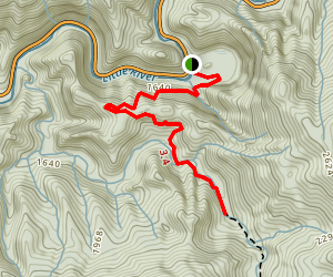 Meigs Creek Trail: Short Version Map