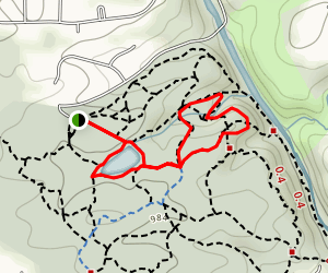Sibley Pond Loop Map