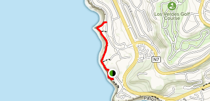 Point Vicente Lighthouse Map
