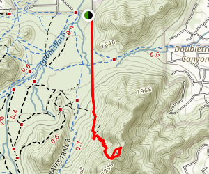 Dixie Peak Trail Map