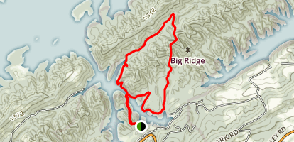 Big Ridge Loop Map