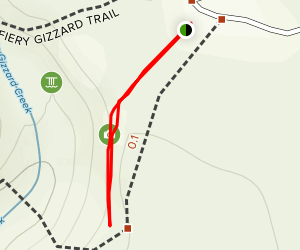 Foster Falls Overlook Trail Map