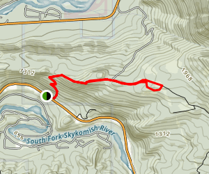 Heybrook Ridge Map