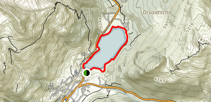 Davosersee Map