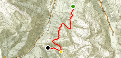 Rinerhorn Mountain: Glaris to Monstein Map
