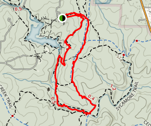 Sycamore and Graylyn Loop Map