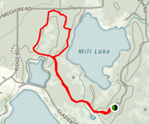 Waterloo Pickney to Lakeview Trail Map
